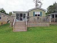 2 bedroom , 1 bathroom cottage with a beautiful waterfront.