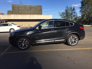 2016 BMW X4 xDrive28i Premium package $54,000
