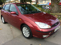 Ford Focus 1.8TDCi 115 2003 GHIA COMPLETE WITH M.O.T WARRANTY INC