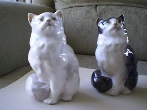 "Royal Doulton Figurines -"" Persian Cats """