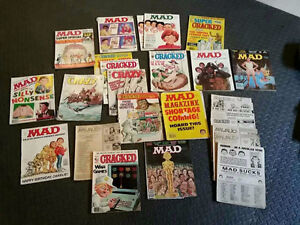 Old MAD / Cracked / CRAZY Magazines (Collectors)