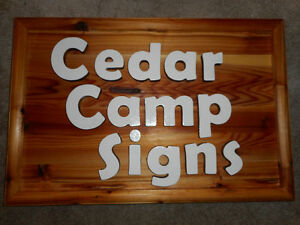 3D carved signs for cottage home and bussiness