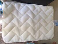 Mothercare travel cot mattress