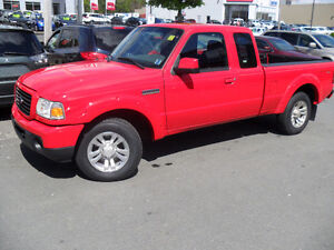2009 FORD RANGER -EX CAB-4X4 -SPORT-V6-5 SPEED-CLEAN