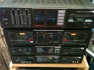 SANSUI TOWER OF POWER -AMP-Pre-AMP-EQ-Tape Deck & Remote London Ontario image 1