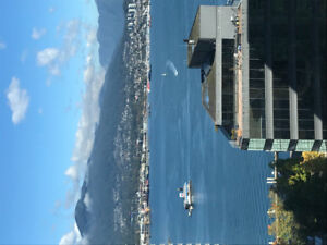 Furnished 1 Bedroom for short term rent in Coal harbour