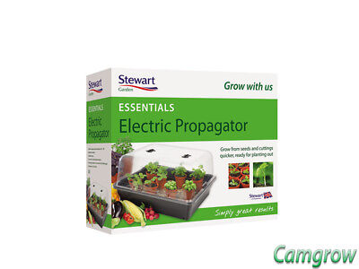 Stewart Essentials Large Heated Electric Plant Seed Propagator 52cm Hydroponics