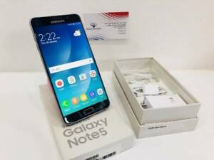 As New Galaxy Note 5 32GB Black Warranty Tax Invoice Unlocked Surfers Paradise Gold Coast City Preview