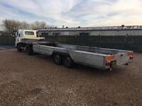 King ma6200 mini articulated trailer 6200 kgs