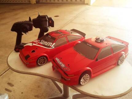 2 ae86 rc cars for swaps