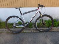 vélo de montagne 29 er cadre carbon 19 pouces roue carbon