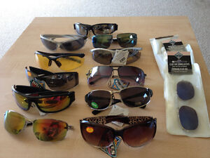 sunglasses in variety of colours and looks