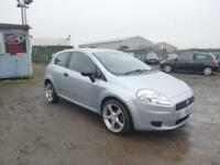 2008 08 Fiat Grande Punto 1.2 Active White 3dr Petrol Manual