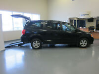 2012 Dodge Grand Caravan SXT Plus with wheelchair conversion
