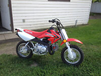 CRF 50 only 3 hours on it
