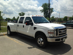 BEAUTIFUL 2008 Ford F-350 LARIAT DUALLY Pickup Truck