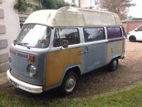 VW T2 Tax exempt 1974