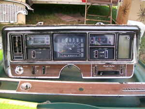1969 Buick Riviera Dash Cluster and Trim.