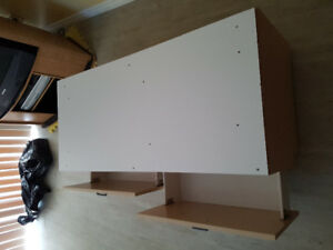 White Blanket Box/Storage Cupboard