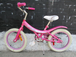 Girls Bike - Cream Soda - Single Gear Back Pedal Brake.