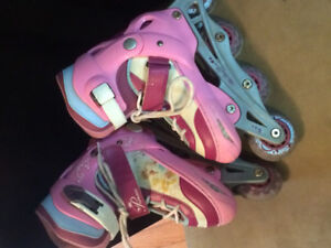 Disney princess switcher skates (roller blade/ice skate)