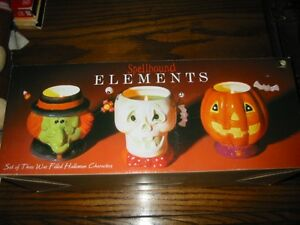 Set of 3 brand new Halloween candles