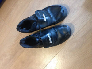 Used balance plus curling shoes