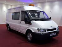 2005 FORD TRANSIT 350 LWB 7 SEATS KITCHEN + TOILET VAN