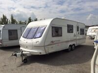 6 BERTH 2001 TWIN WHEEL ELDDIS FIRESTORM AWNING END BEDROOM FIX BUNKBEDS WE CAN DELIVER