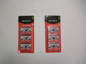 SONY MICROCASSETTES