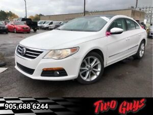 2012 Volkswagen CC Sportline  Panoramic Roof - Leather