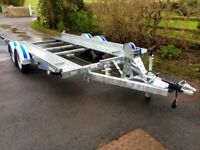Trailer car transporter trailer 14x6,2 tilt bed dale Kane