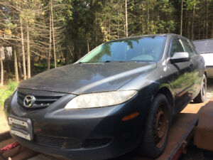 2004 Mazda6 Wagon - Parts Car