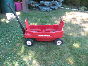 Childrens Wagon With back rest good condition