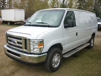 2014 Ford E-250 XLT Cargo Van, FULLY LOADED, LOW KMS!!