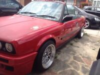 Bmw e30 325i mtech 2 kit 3 series convertible 1989 F reg not breaking or spares Px