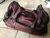 EXECUTIVE Voltaire Group leather travel bag