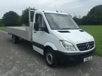 Mercedes Sprinter 313Cdi 3.5T New **Extra Long 20ft (6.1m)** Dropside, Low Miles