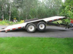 Construction Tilt Deck Trailer