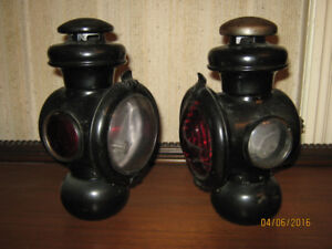 Ford Model T Kerosene Car Lamps, 100 years old