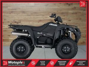 2018 Suzuki KingQuad 500AXi Power Steering Special Edition !!! 2
