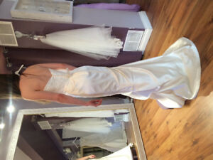 Unworn, unaltered wedding dress