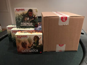 Magic the Gathering sealed products - EMA, Aether Revolt, FP