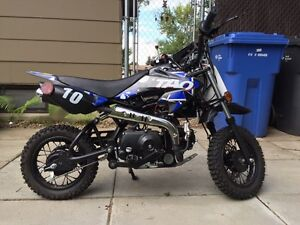 110cc pocket dirt bike