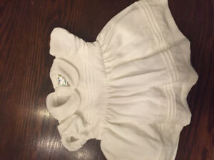 Off white party dress 12m