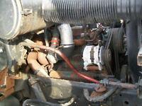moteur tracteur dt 466 6 cyl  diesel peu millage