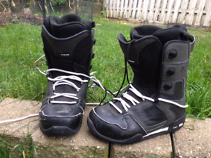Mens Snowboard Boots Size 8