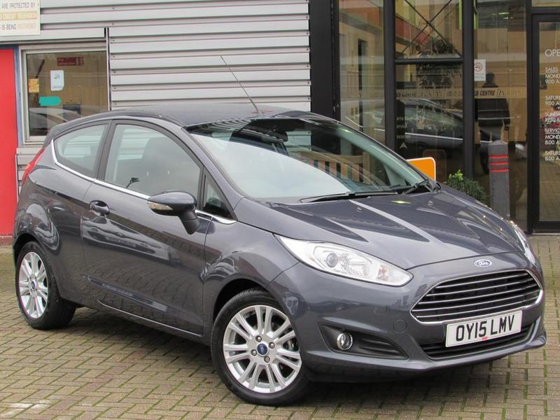 Ford Fiesta   Ecoboost Zetec  Private Owner Grey