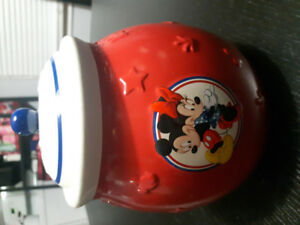 Collectable Mickey and Minnie Cookie Jar