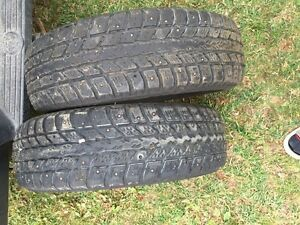 Four studded tires for sale ( 195/70/14 )